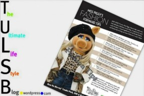Miss Piggy's Fashion Forward Tips