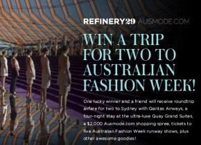 Fashion Week, A $2K Sweeps, And A Dream Vacation: Aussie Giveaway Is Beyond