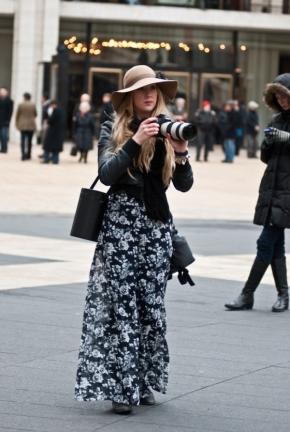 NYFW Street Style – FloralIII