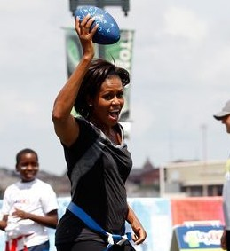 This Summer's Olympics in London 2012, Will Be Lead This Year By First Lady Michelle Obama