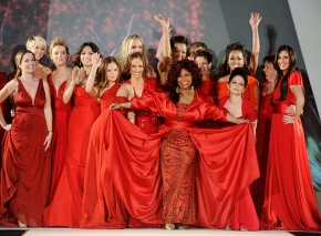 NYFW: The Heart's Truth Fall 2012 Red Dress Collection Sponsored by Diet Coke