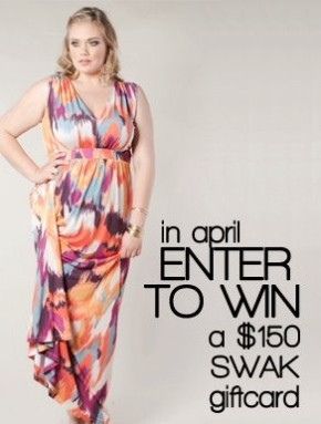 Enter to win with Sealed Kiss Designs Plus Size Boutique