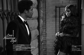 Sessilee Lopez and Wendell Lissimore by Udo Spreitzenbarth for West East Magazine
