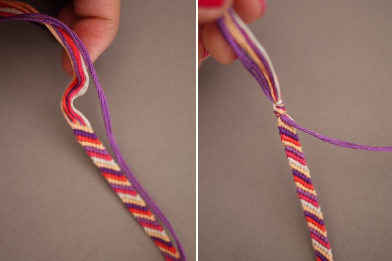 Diy embellished friendship bracelets tuls