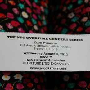 The Review : NYC Overtime ConcertSeries